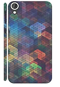 KALAKAAR Printed Back Cover for HTC Desire 820,Hard,HD Matte Quality,Lifetime Print Warrenty