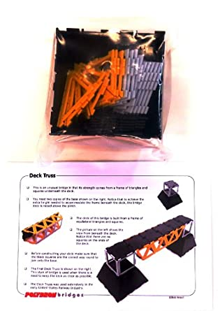 Polydron Deck Truss Model Bridge Kit