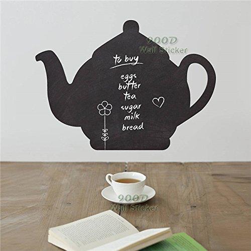 oil-decor-no-frame-tea-pot-chalkboard-sticker-diy-home-decoration-wall-art-decals