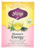 Yogi Woman's Energy, Herbal Tea Supplement, 16-Count Tea Bags (Pack of 6)