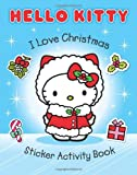 I Love Christmas Sticker Activity Book (Hello Kitty)