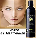 Tan Physics True Color Sunless Tanner 8 fl oz with 5 FREE pairs of application gloves