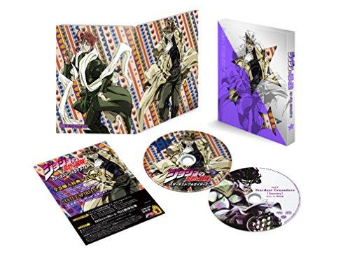ジョジョの奇妙な冒険スターダストクルセイダース Vol.2 (イベント応募券、サウンドトラック付)(初回生産限定版) [Blu-ray]