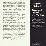 Image de Der Vorleser (Diogenes Hörbuch)