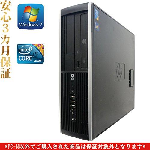 【Office2013搭載】【デスクトップパソコン】【Win7 32Bit搭載】HP 8100/Core i5搭載/メモリ4GB/HDD1TB/DVDスーパーマルチ/
