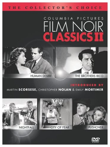 Columbia Pictures Film Noir Classics II (Human Desire / The Brothers Rico / Nightfall / City of Fear / Pushover) Picture