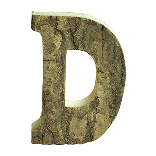 Oak-Pine Vintage Large Decorative Wooden Letters & Number DIY Wall Stickers Hanging Wall Decor Restaurant Decor for Home, Nursery, Shop, Business Signs, Name,Festival Wedding Decoration D (Wall Decor For Restaurant compare prices)