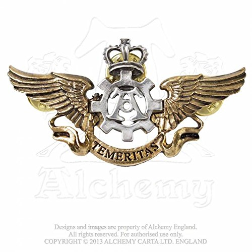 Alchemy Empire: Steampunk Temeritas Wings Medal by Alchemy Of England