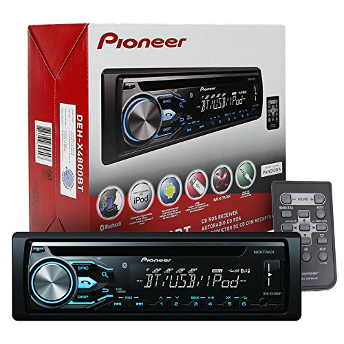 Pioneer Wiring Harness System Remote Control : Pioneer deh bt bluetooth in dash cd car stereo audio