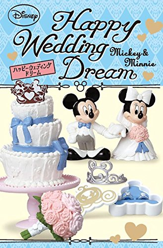Re-Ment Disney Mickey Mouse Happy Wedding Miniature Box - 1
