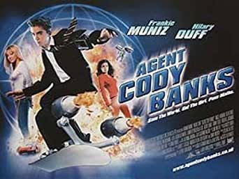 Agent Cody Banks Frankie Muniz Hilary Duff Poster at
