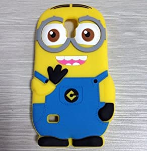 DIA Minion Minions Two Eyes Soft Silicone Case Cover for Samsung ...
