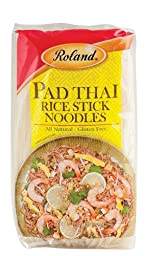 Roland Rice Noodles, Pad Thai Sticks, 14 Ounce (Pack of 30)