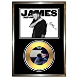 JAMES ARTHUR - SIGNED FRAMED GOLD CD & PHOTO DISPLAY ++X FACTOR WINNER 2012 IMPOSSIBLE