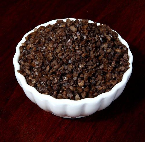 Alderwood Smoked Sea Salt Salish ( Coarse ) - For A Salt Mill Or A Heavy Rub Or The Bbq