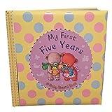 Mis Primeros Cinco A�os Diario - Un Libro De Registro De Beb�