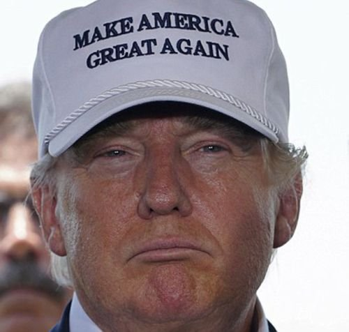 [Make America Great Again Hat Donald Trump 2016 Republican Adjustable Mesh Cap] (Bellboy Costumes)