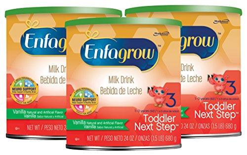 Enfagrow美赞臣 Toddler 3段 香草口味奶粉 680g*3盒图片