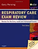 img - for Respiratory Care Exam Review: Review for the Entry Level and Advanced Exams (Book with CD-ROM) Book & CD Edition by Persing, Gary (2000) book / textbook / text book