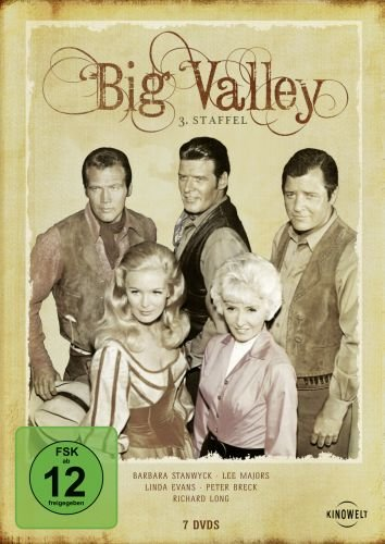 The Big Valley - 3. Staffel [7 DVDs]