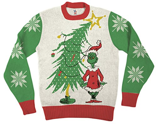 Santa Grinch Xmas Sweater