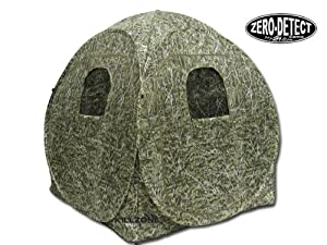 KillZone Turret Hunting Pop-Up Ground Blind for Turkey and Deer Hunting with Zero Detect Camo