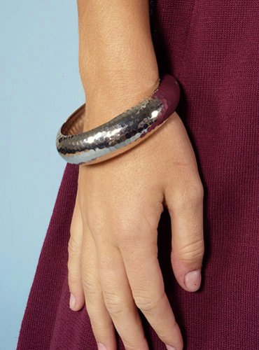 Style Violet Silver Faceted Metal Bangle Bracelet - Buy Style Violet Silver Faceted Metal Bangle Bracelet - Purchase Style Violet Silver Faceted Metal Bangle Bracelet (Style Violet, Apparel, Departments, Accessories, Women's Accessories)