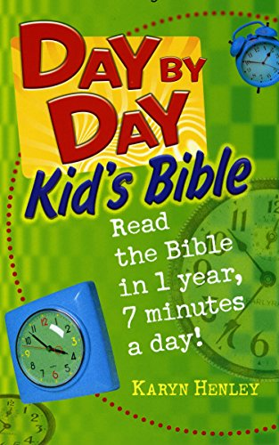 Day By Day Kid'S Bible: The Bible For Young Readers front-145872