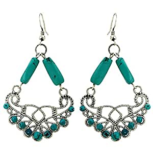 Turquoise old fashion jewellery handmade for Turquoise colored fashion jewelry