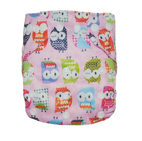 Besto Baby Reusable Washable Aio Cloth Diapers Fit 6-33Lbs With 1 Free Microfiber Insert 1N16 front-787011
