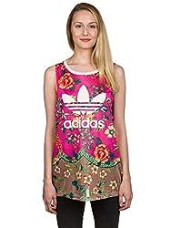 adidas Originals Women's Body Blouse Top (AJ8137_Multicolor_40)