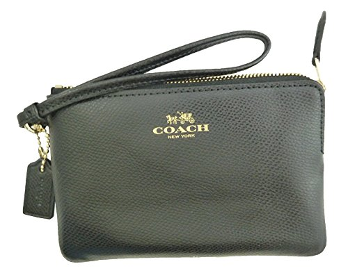 coach-crossgrain-leather-corner-zip-wristlet-dahlia-black