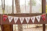 Valentines Day Kisses Banner