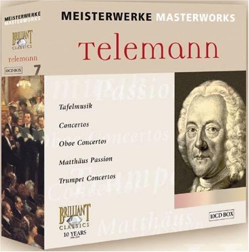 Coffret Telemann - 10 CD