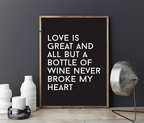 print-love-is-great-and-all-but-a-bottle-of-wine-never-broke-my-heart-lustige-typografie-druck-liebe