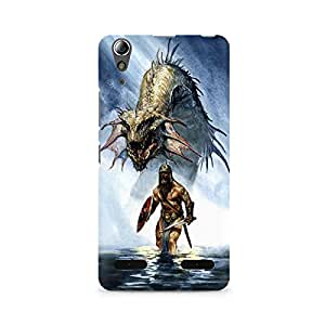 Mobicture Monster Premium Printed Case For Lenovo A6000