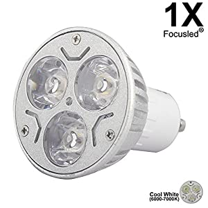 GU10 3W LED Bulbs Home Bulbs Reading Bulbs LED 220V Brighter Than Halogen Lamps 1- Packs from Focusled