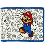 Nintendo Super Mario Bros. Mario with Enemies Bifold Wallet