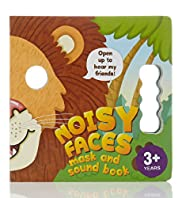 Noisy Faces Mask & Sound Book