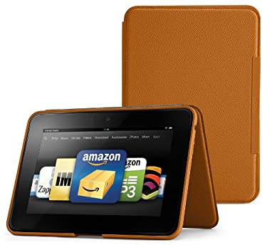 "Amazon Kindle Fire HD 8.9"" Standing Leather Case, Saddle Tan (will not fit HDX models)"