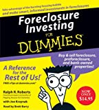 Foreclosure Investing For Dummies CD (For Dummies (Business & Personal Finance))