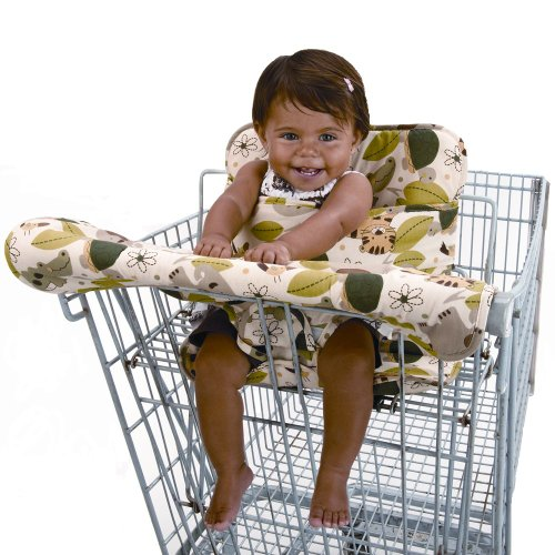 NoJo Secure Me Travel Seat - Jungle Mania