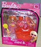 Barbie Mini B. #37 Doll with Orange Lips Case & Pet
