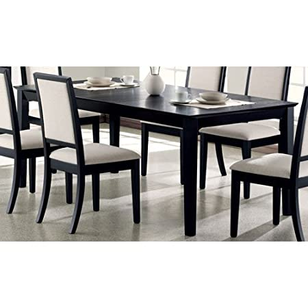Coaster Home Furnishings 101561 Casual Dining Table, Black