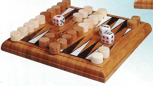 Bamboo Backgammon - 1