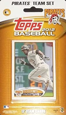 2012 Pittsburgh Pirates Topps Factory Sealed Special Edition 17 Card Team Set