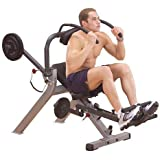 Body-Solid Commercial Semi-Recumbent Ab Bench