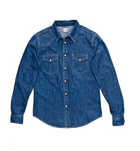 lee-camicia-casual-classico-uomo-blu-blau-mid-stone-xl