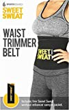 Sweet Sweat Premium Waist Trimmer. Includes Free Sample of Sweet Sweat Workout Enhancer!