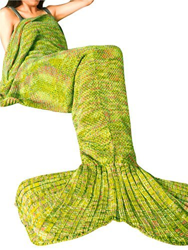 feeshow-mermaid-tail-blanket-handcrafted-crochet-knitting-all-seasons-soft-sleeping-bag-rug-for-adul